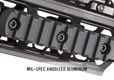 Photo MAG110-5-M-LOK RAIL PICATINNY 9 SLOTS MAGPUL