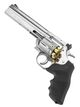 Photo PG1927-5-REPLIQUE REVOLVER DAN WESSON 715 CO2 SILVER 6 POUCES ASG