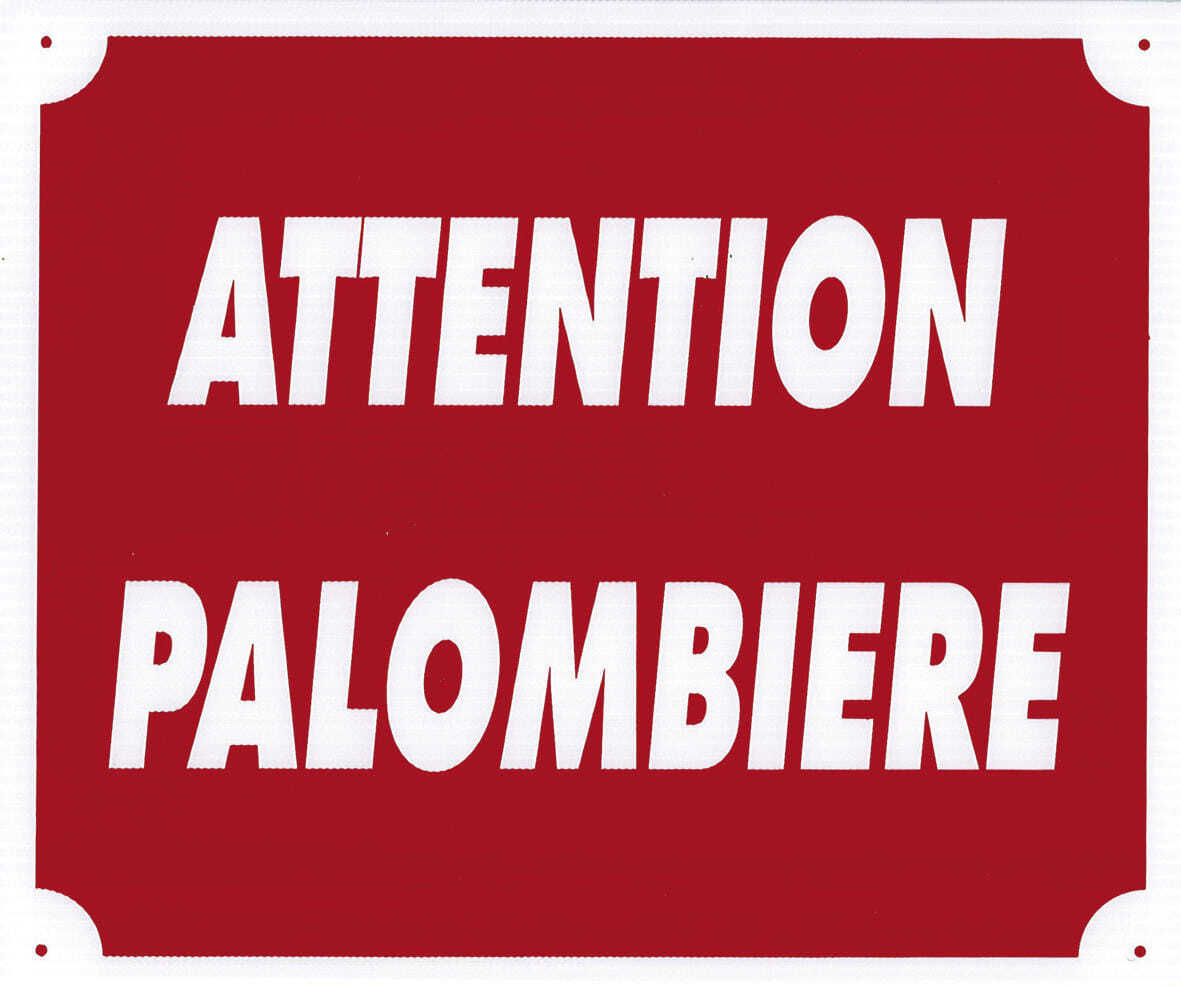 A50800-ATTENTION PALOMBIERE - A50806