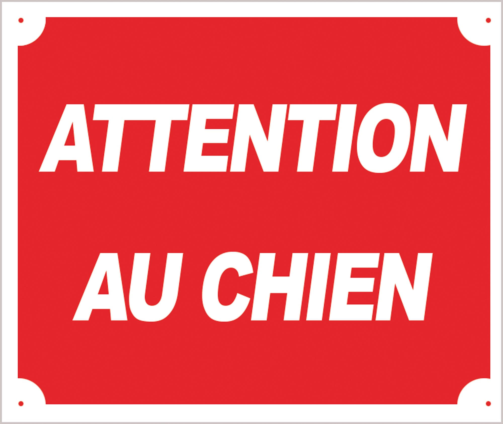 ATTENTION AU CHIEN - A50865