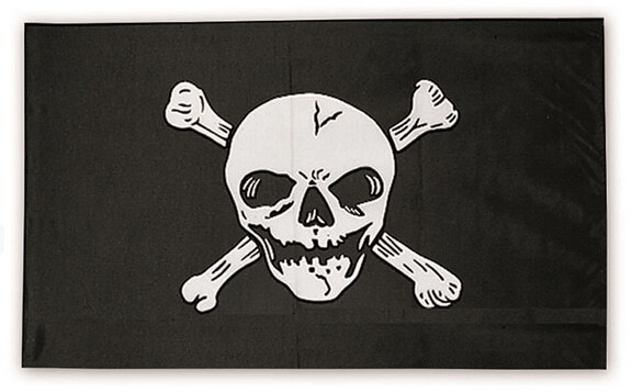 A60464-Drapeau pirate - A60464