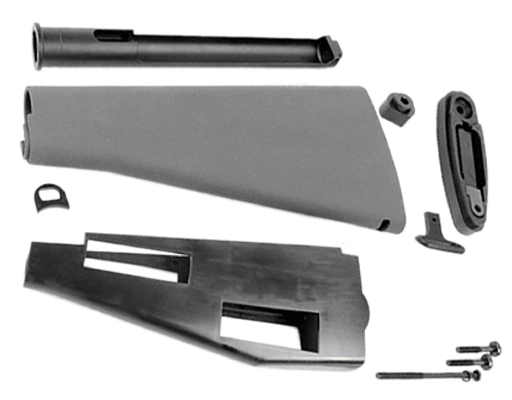 A60578-1-Duplica Crosse fixe + tube pour M4 / M16 Grey - KING ARMS - A60578
