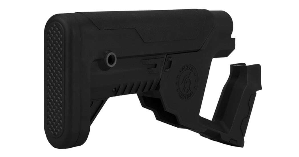 A68769-3 Lancer Tactical Alpha stock Black for M4 AEG - A68769