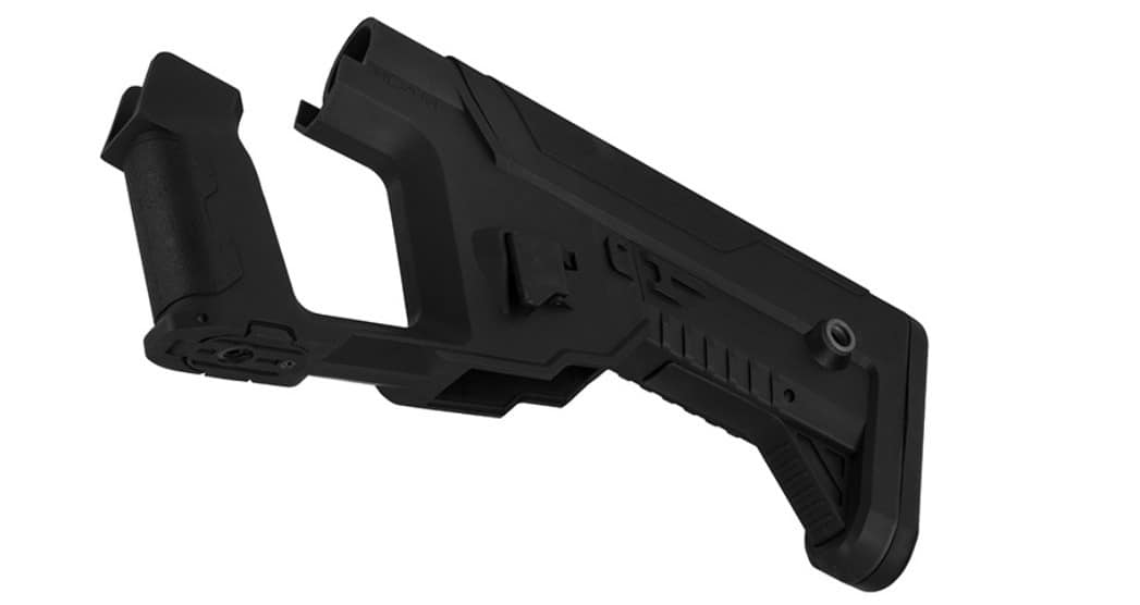 A68769-4 Lancer Tactical Alpha stock Black for M4 AEG - A68769