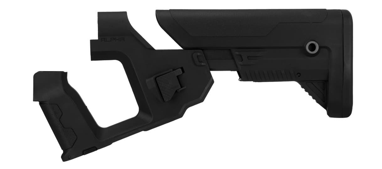 A68769 Lancer Tactical Alpha stock Black for M4 AEG - A68769
