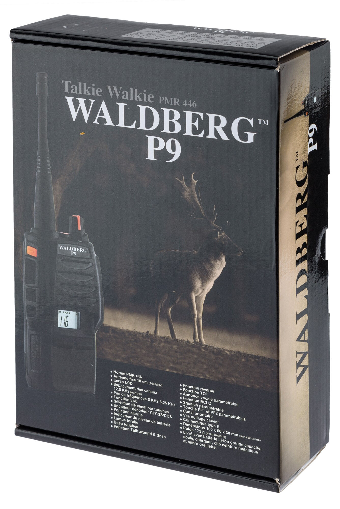 A69235-11 Talkie-Walkie Waldberg P9 PRO V2 - A69235