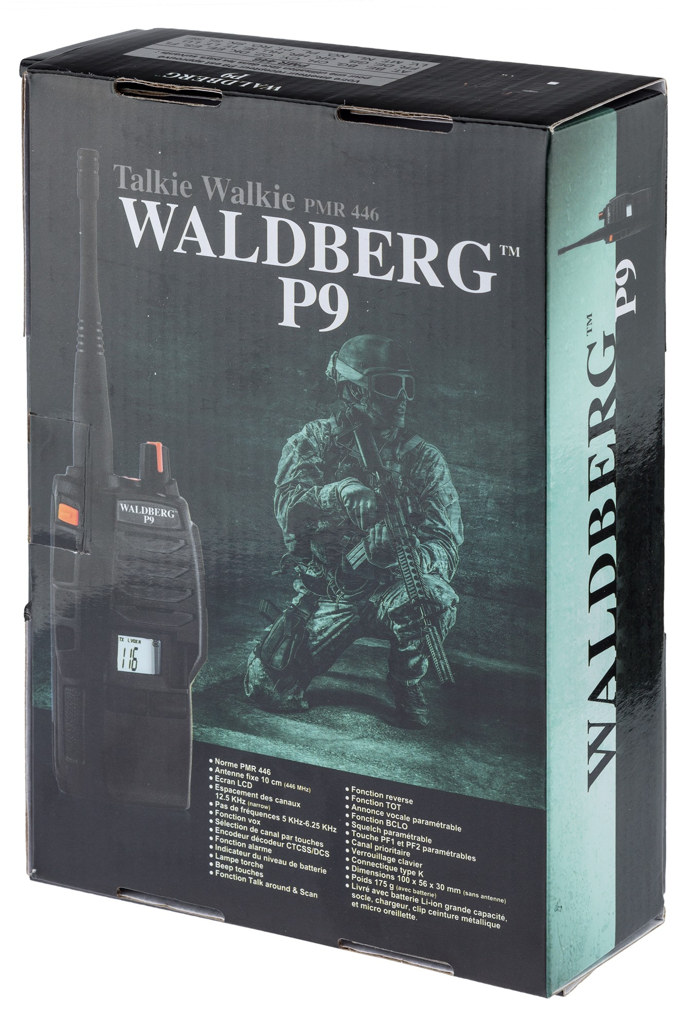 A69235-12 Talkie-Walkie Waldberg P9 PRO V2 - A69235