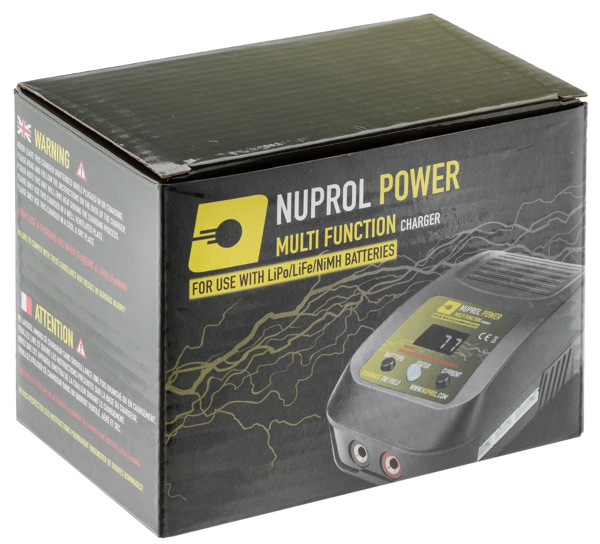 A69838-3 Lipo / Life / NiMh / NiCd Multi Function Charger - A69838