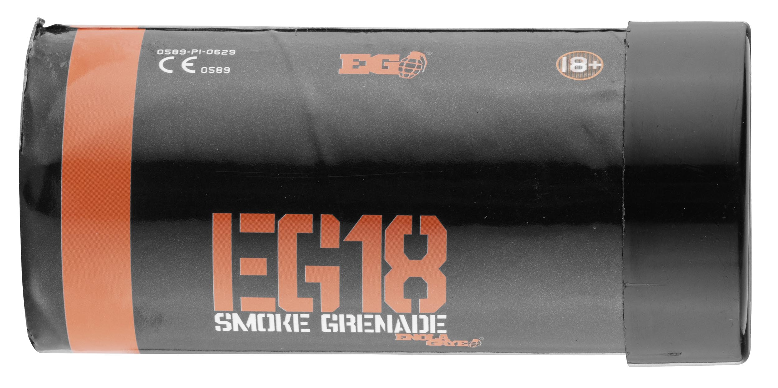 A705315O-3 Smoke ORANGE eg-18 wire sweater assault smoke - Enola gaye - A705315O