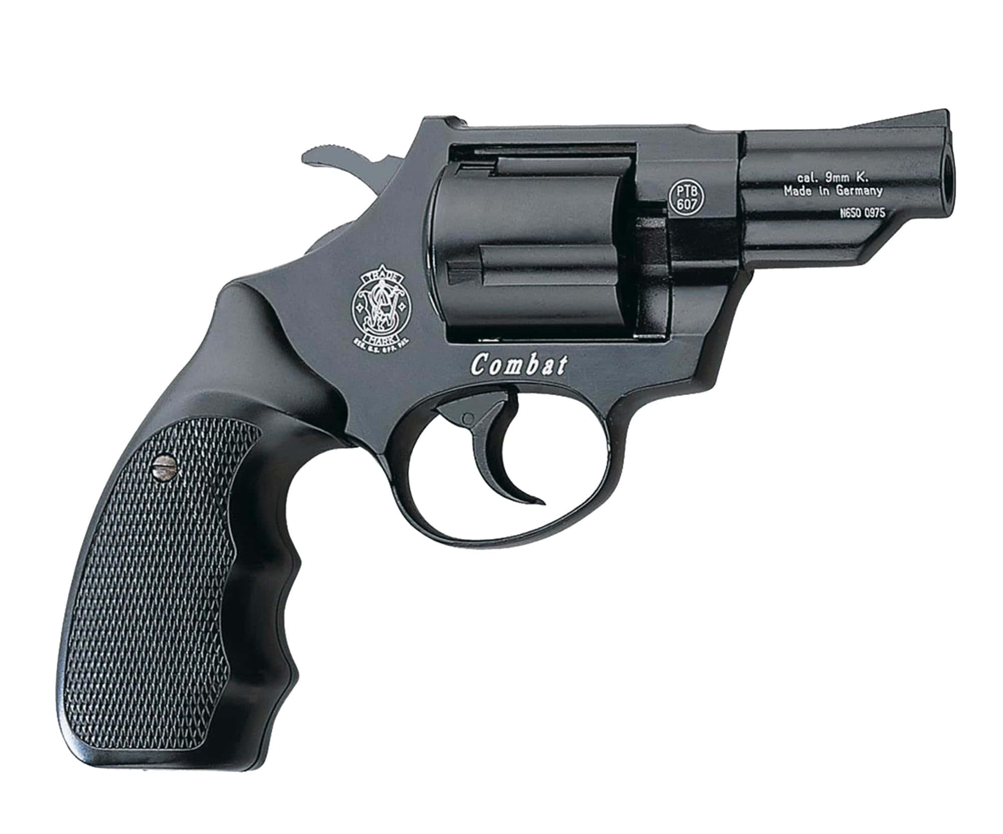 AB163-2 Revolver 9 mm à blanc Smith & Wesson Combat bronzé - AB163