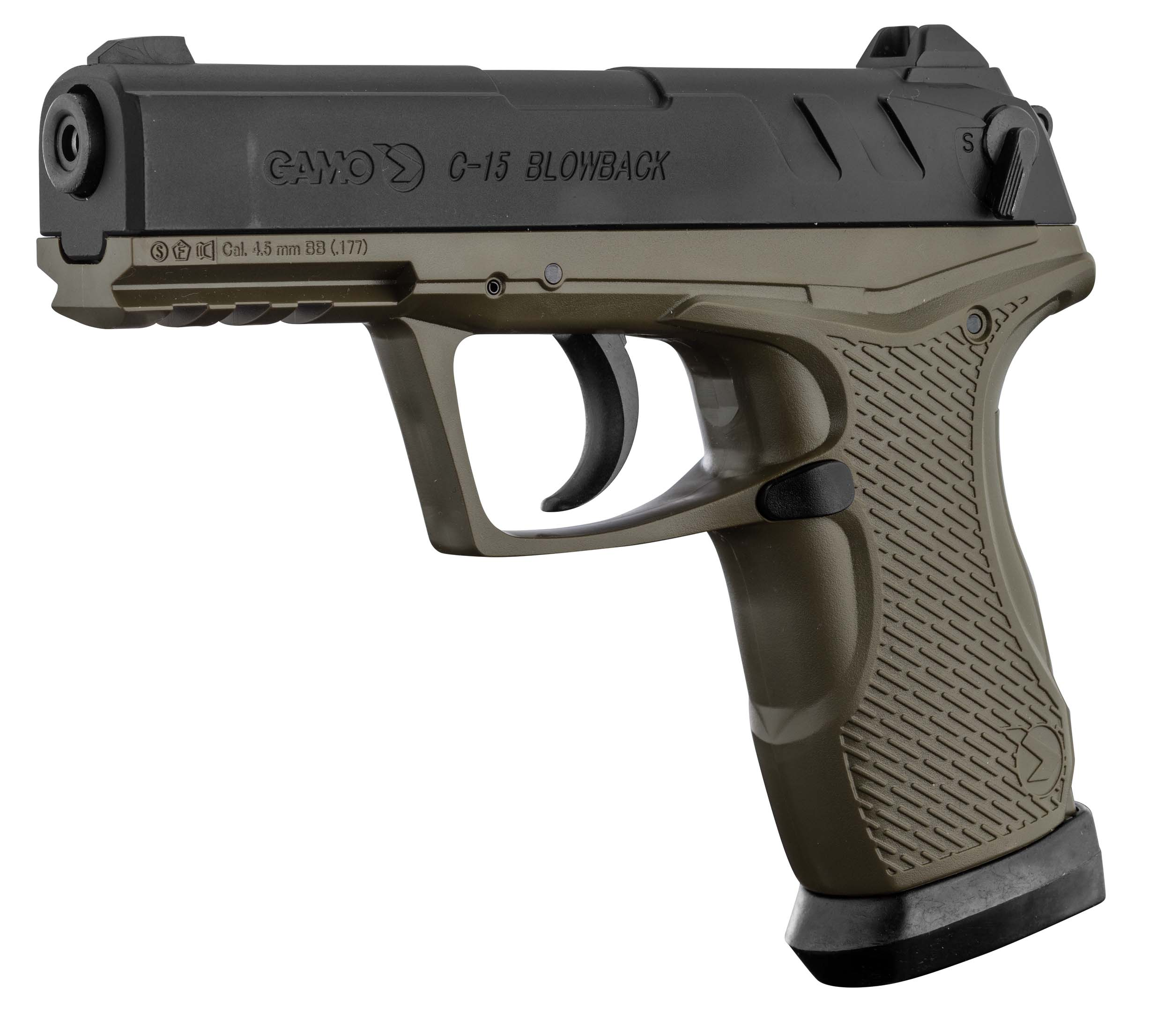 ACP109-2 GAMO CO2 pistol GP-20 COMBAT cal. 4.5 mm - ACP109