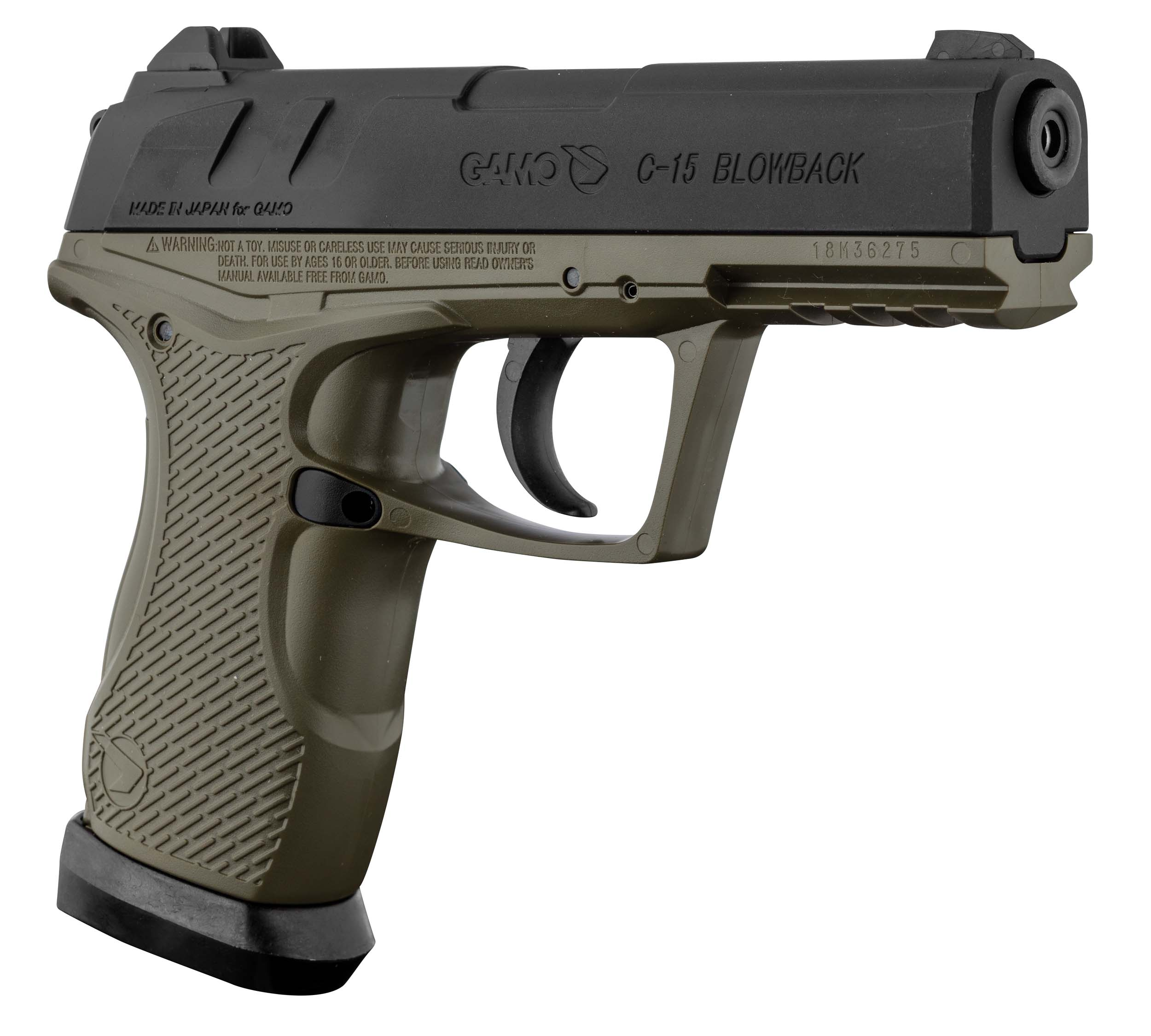 ACP109 GAMO CO2 pistol GP-20 COMBAT cal. 4.5 mm - ACP109