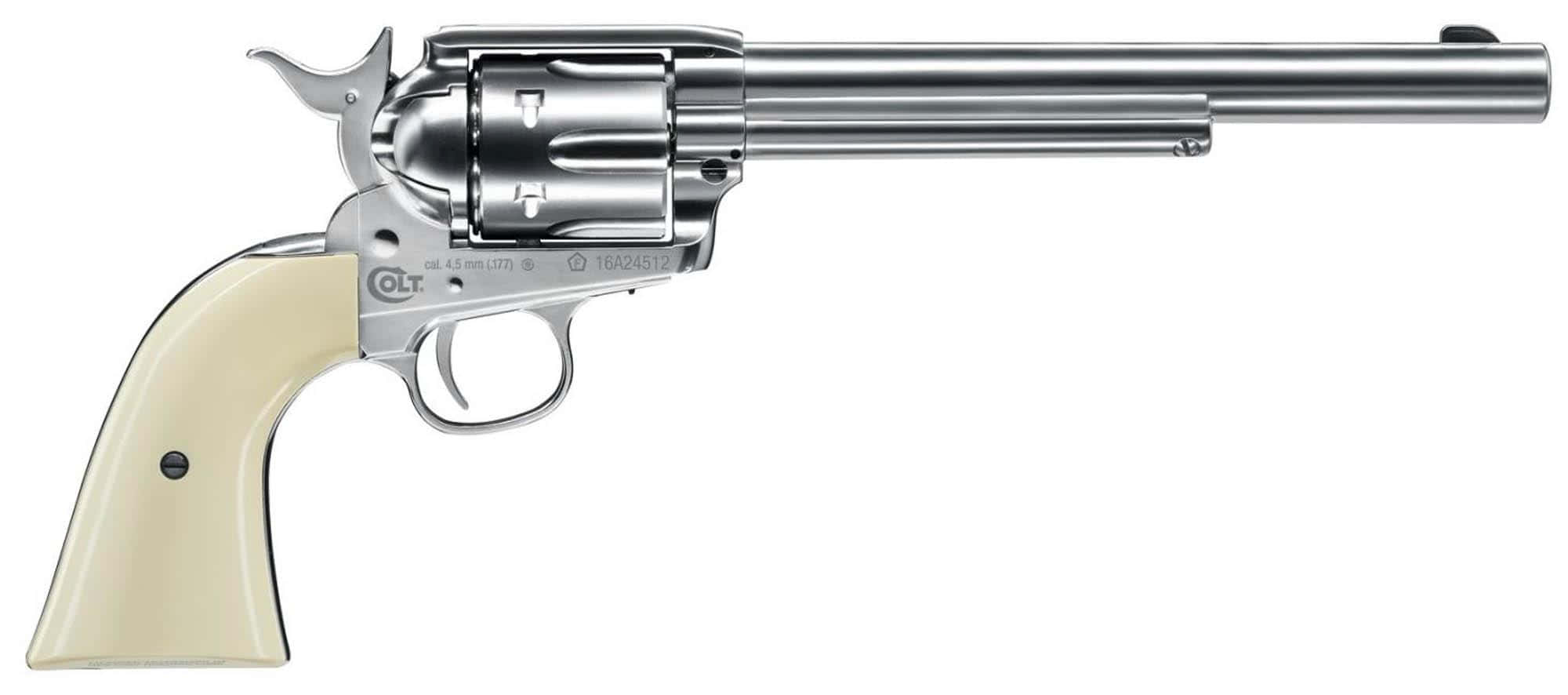 ACP202-2-Revolver plomb Colt single action .45 nickel - UMAREX - ACP207