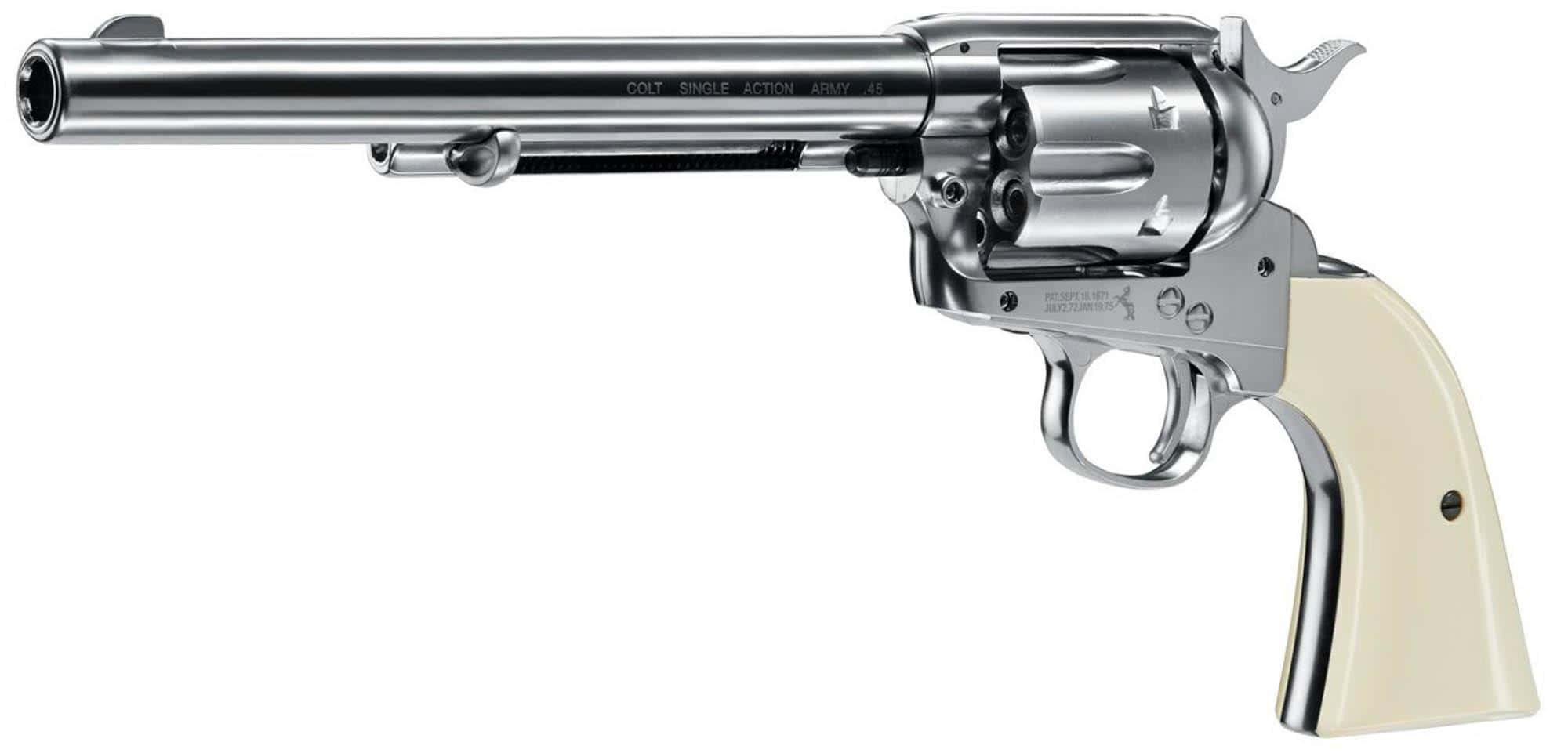 ACP202-Revolver plomb Colt single action .45 nickel - UMAREX - ACP207