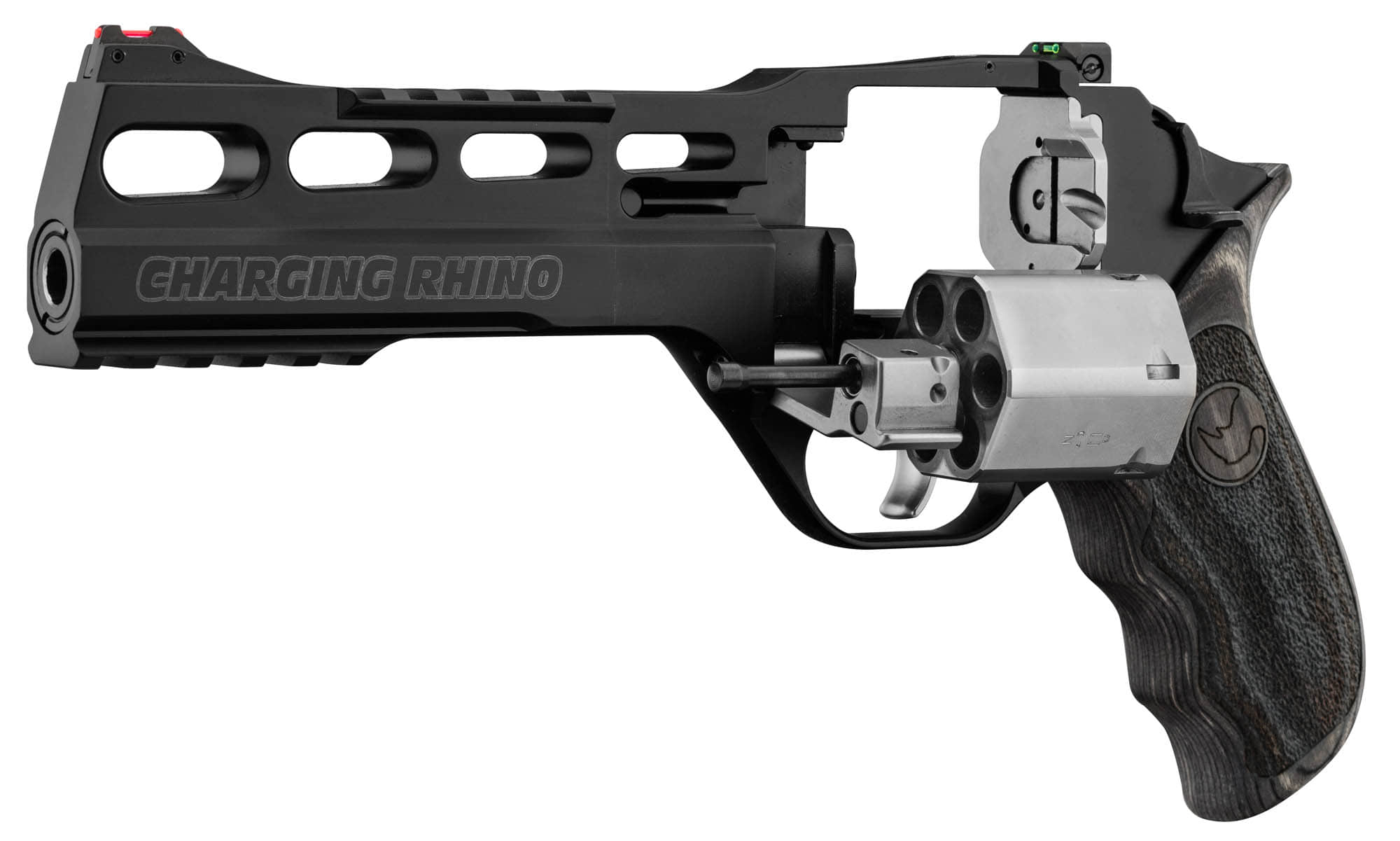ADP763-2-Revolver Chiappa 60 DS 6'' Charging Rhino Edition limitée - ADP763