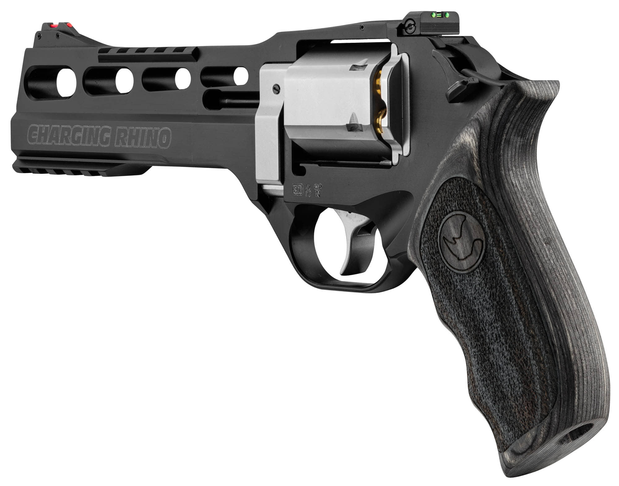 ADP763-4-Revolver Chiappa 60 DS 6'' Charging Rhino Edition limitée - ADP763