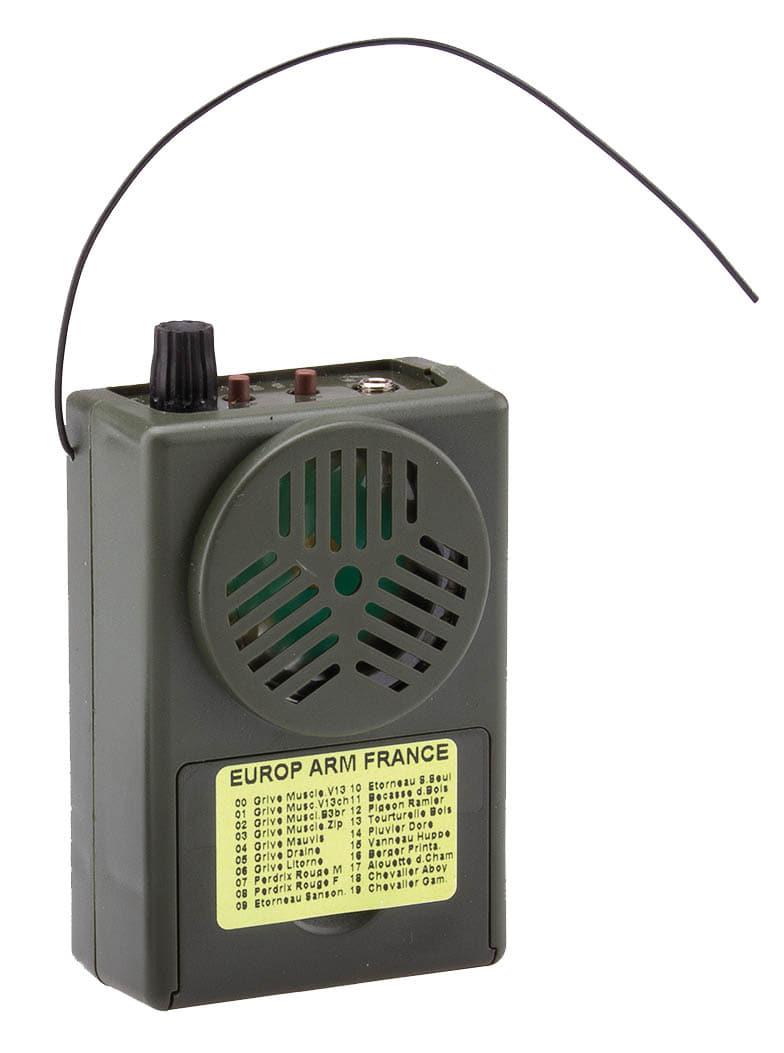 Appeau accoustique MR104 Sonido avec télécommande