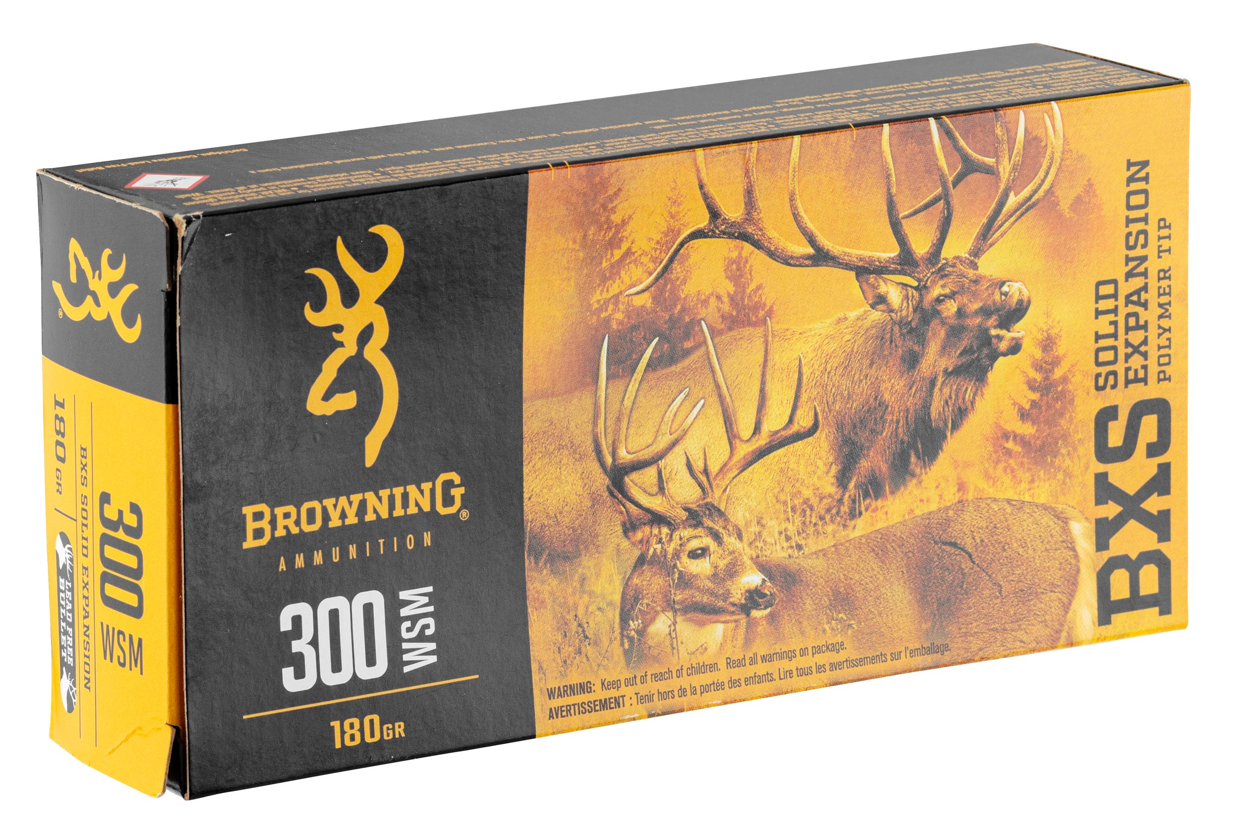 BW1315-1 Munition grande chasse Browning cal. 300 WSM - BW1315
