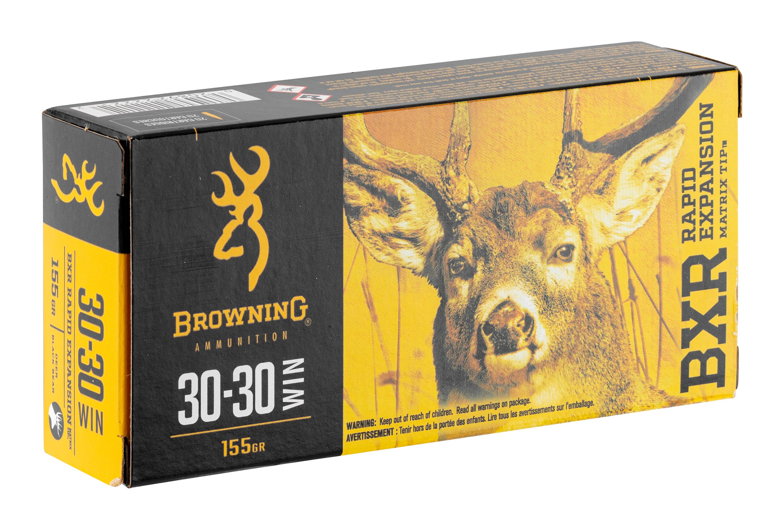 BW1333-1 Munition grande chasse Browning cal. 30-30 Win - BW1333