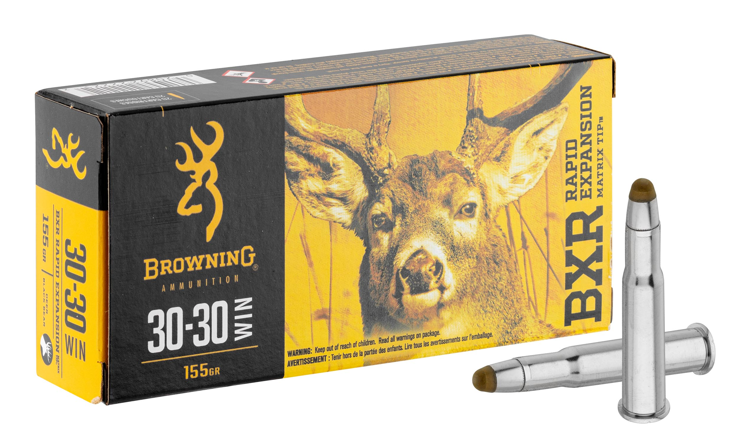 BW1333 Munition grande chasse Browning cal. 30-30 Win - BW1333