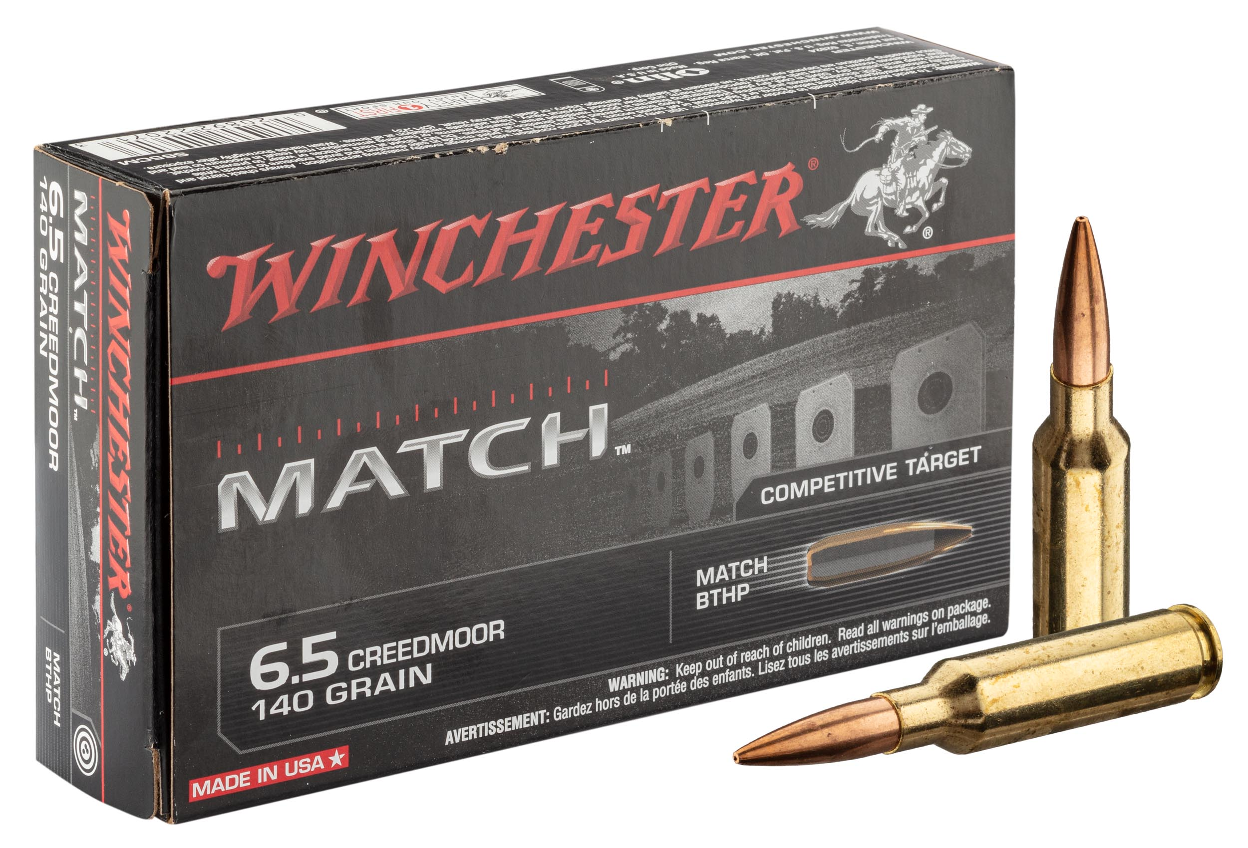 BW1900-1 Munitions Winchester 6.5 Creedmoor - BW1900
