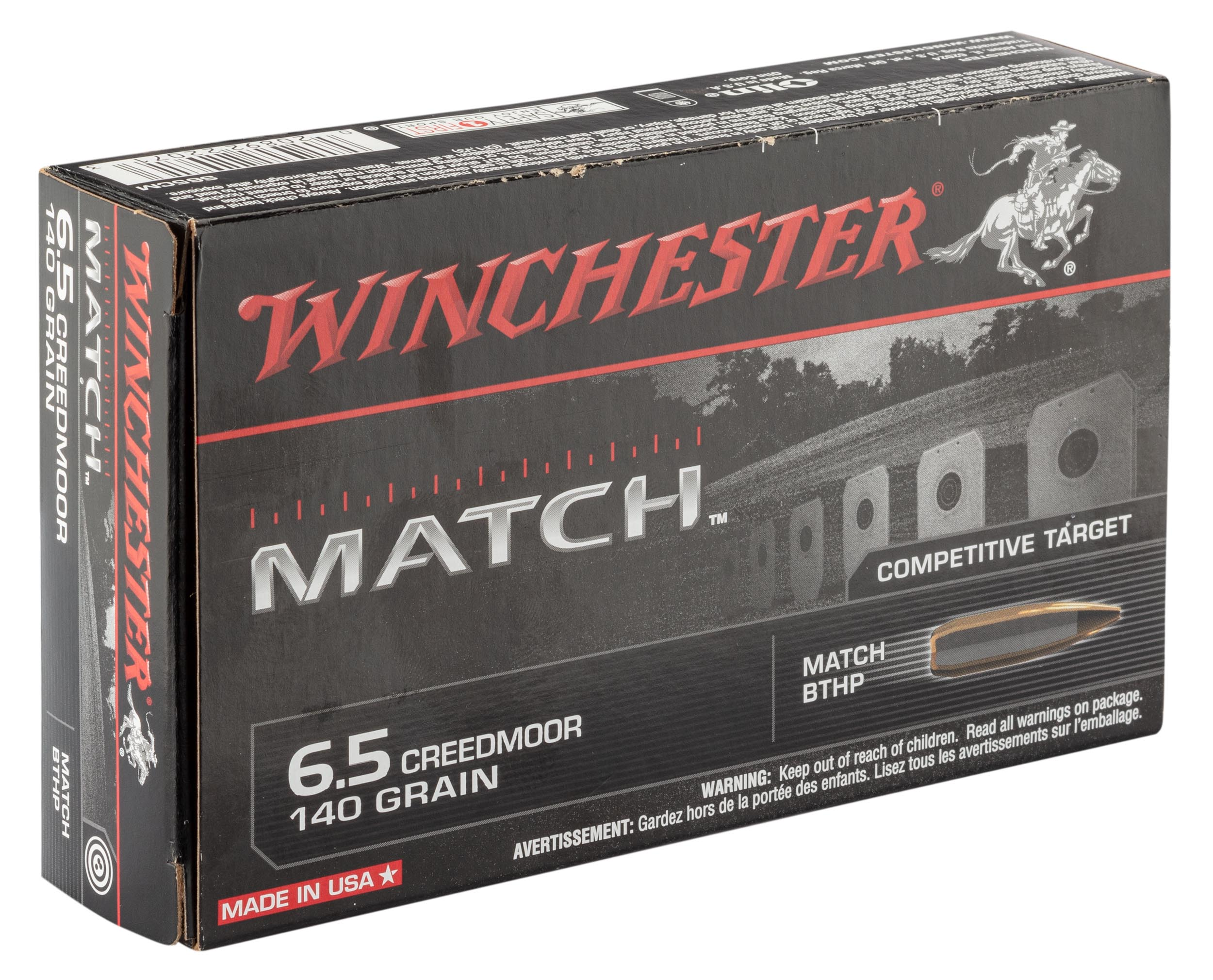 BW1900-2 Munitions Winchester 6.5 Creedmoor - BW1900