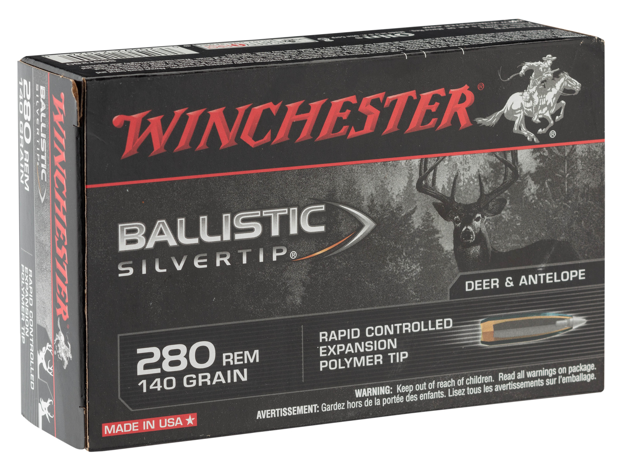 BW2801-1-Munition grande chasse Winchester Cal. 280 rem - BW2801