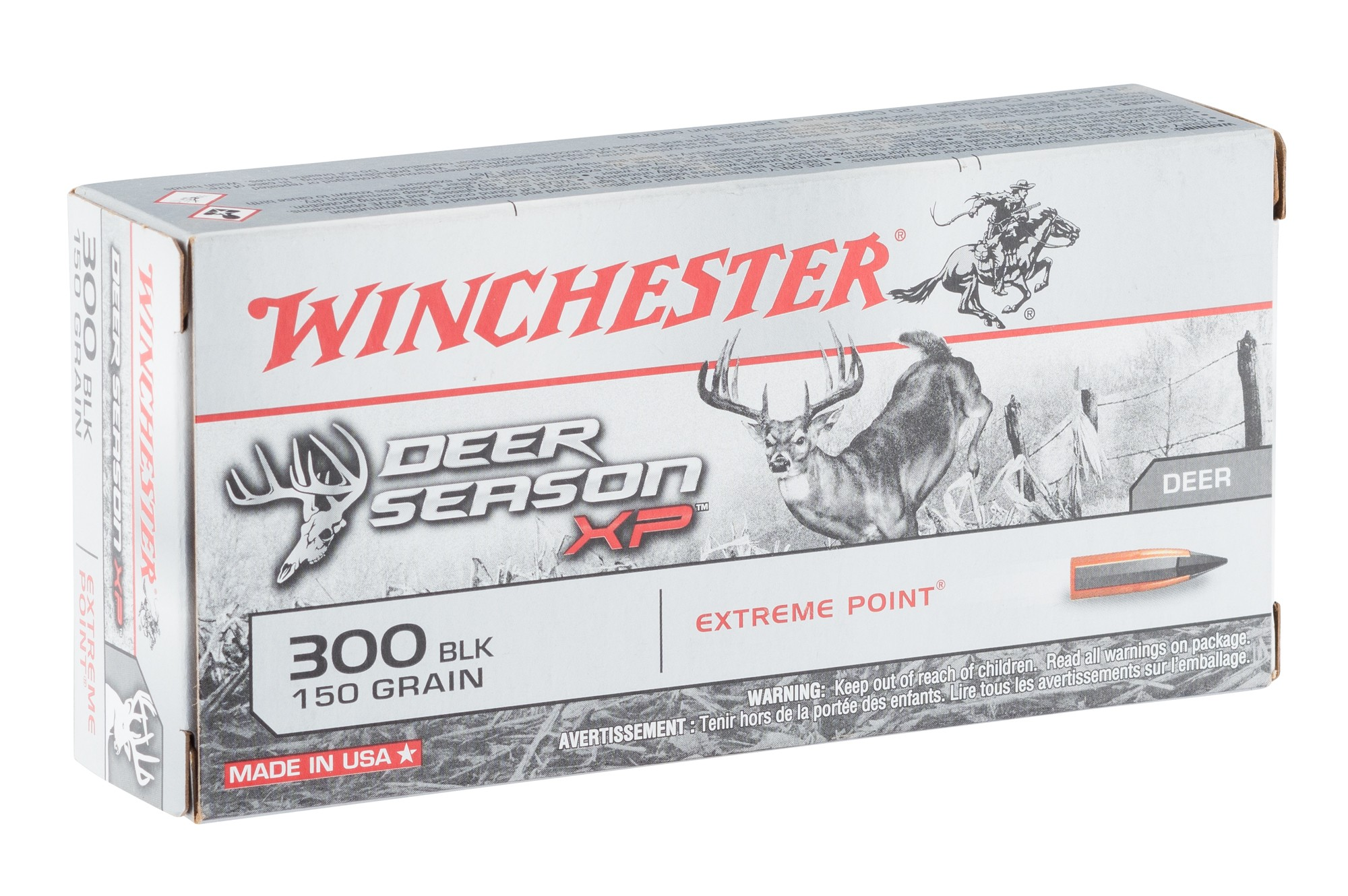 BW3021-1 Munition grande chasse Winchester Cal. 300 Blackout - BW3021