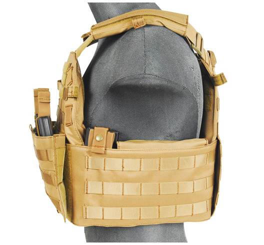 CA-311T2N-2-Plate Carrier 1000D Tan - A68608
