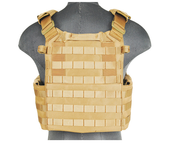 CA-311T2N-4-Plate Carrier 1000D Tan - A68608