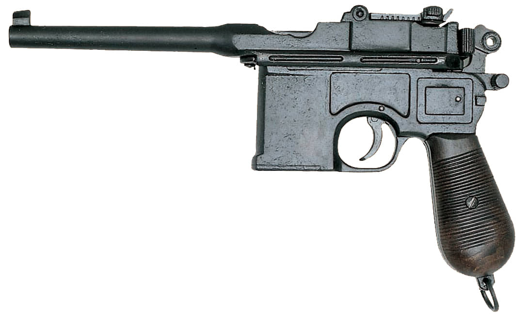 CD1024-Réplique décorative Denix du pistolet allemand C96 - CD1024