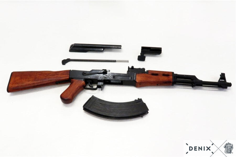 CD1086-06-Réplique décorative Denix du fusil d'assault russe AK47 - CD1086C