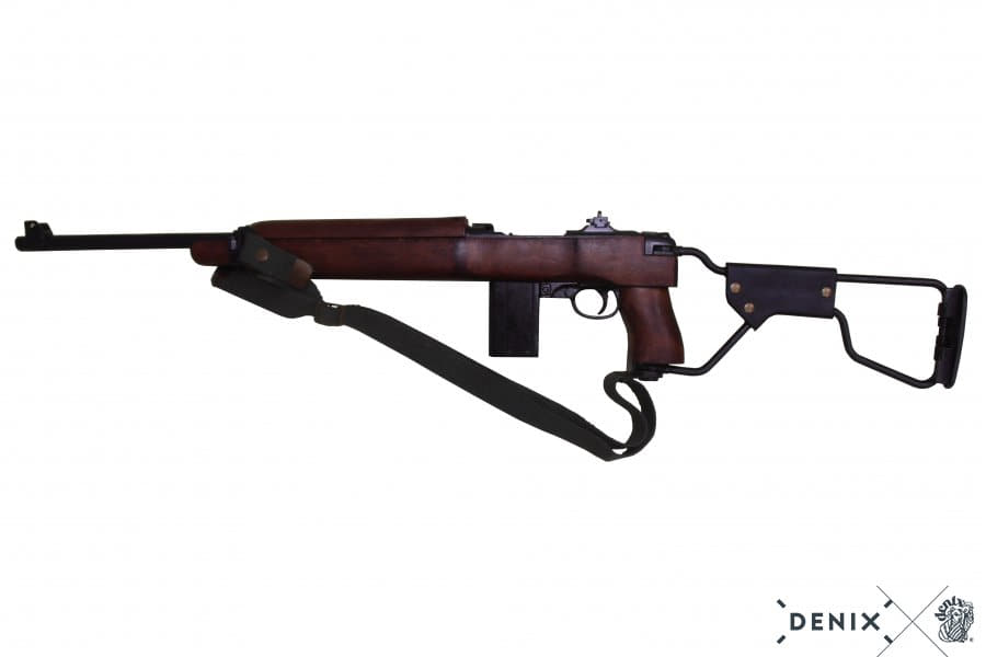 CD1131-04-Réplique décorative Denix de la carabine américaine M1 Carbine à crosse pliante - CD1131