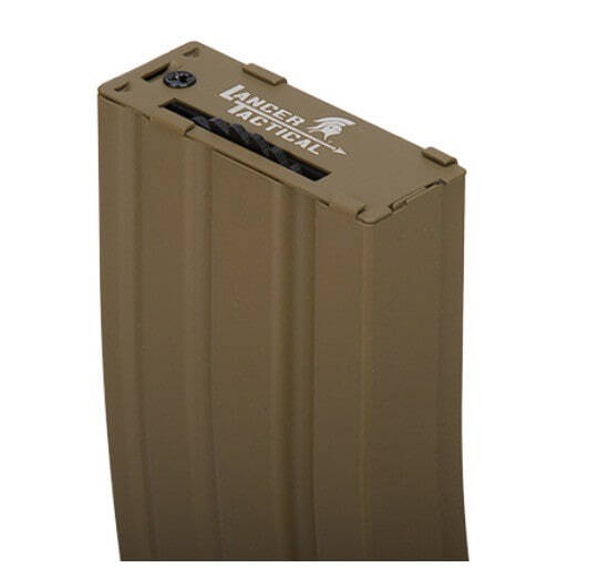 CLK9010-1 Hi-cap 300 rounds metal mag black - CLK9010