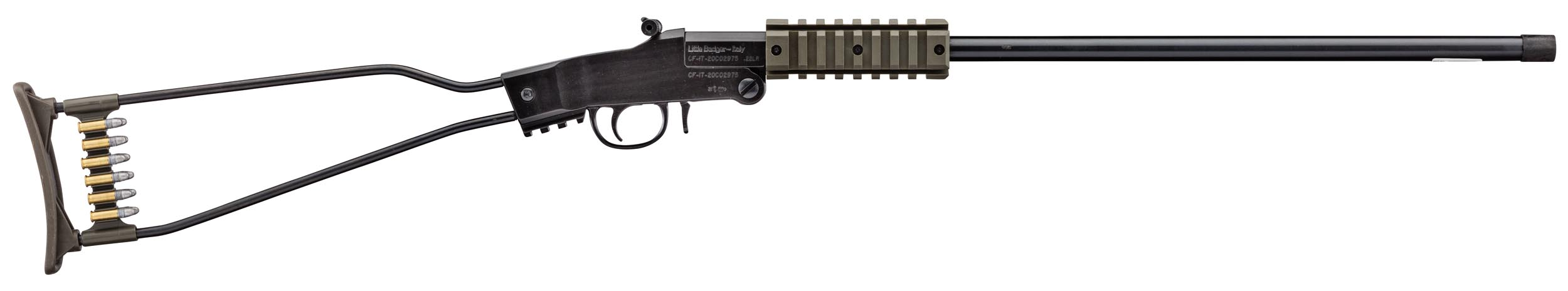 CR382OD-2 Carabine pliante Little Badger 22 LR OD- Chiappa Firearms - CR382OD