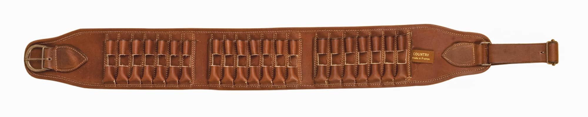 Cartouchière cuir gras pour 21 balles - Country Sellerie 801d61b5874