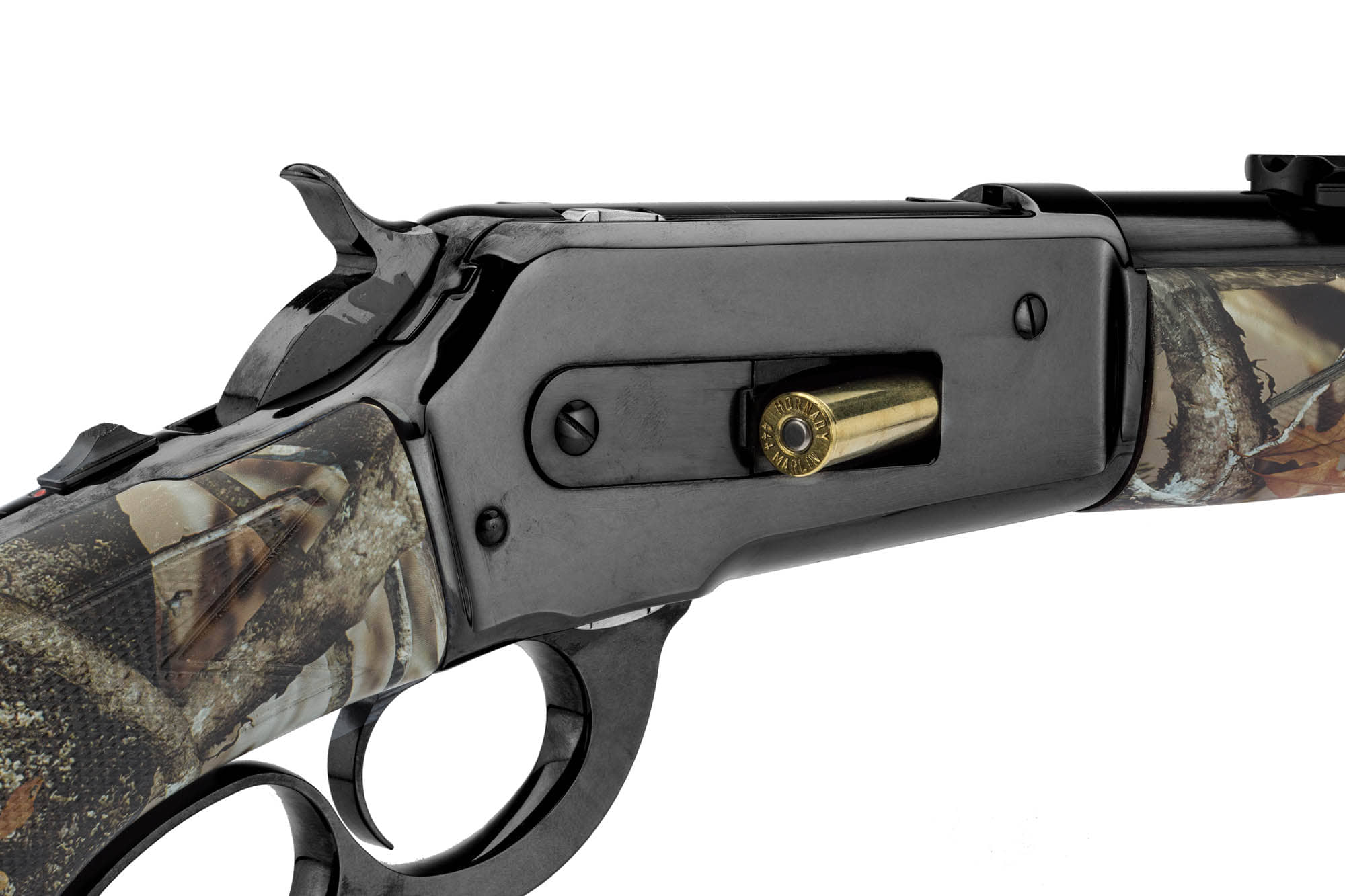 DPSM741-6-Carabine Pedersoli lever action mod. 86/71 cal . 444 Marlin - camo forest - DPSM741