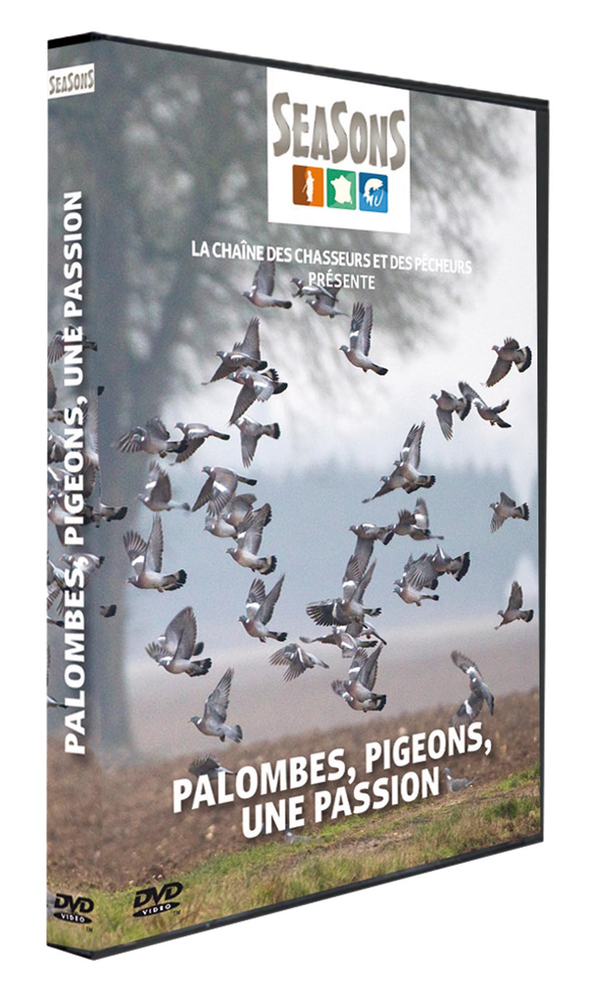 DVD13-DVD Seasons - Palombes, pigeons, une passion - DVD13