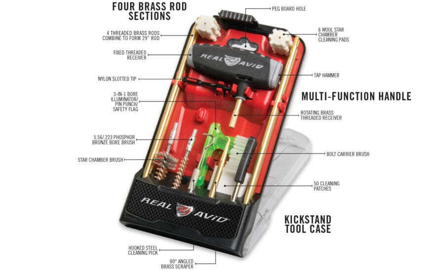 EN10217.2 Real avid gun boss pro - AR15 cleaning kit - EN10217