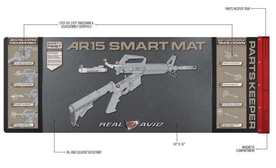 EN10230.2 Real avid AR15 smart mat - EN10230