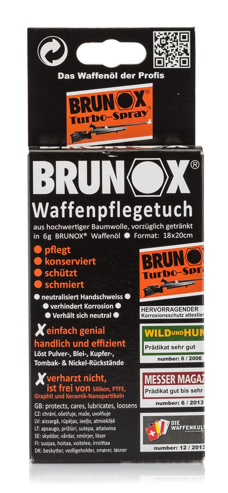 EN6500-Pack de 5 lingettes d'huile Turbo-Spray - Brunox - EN6500