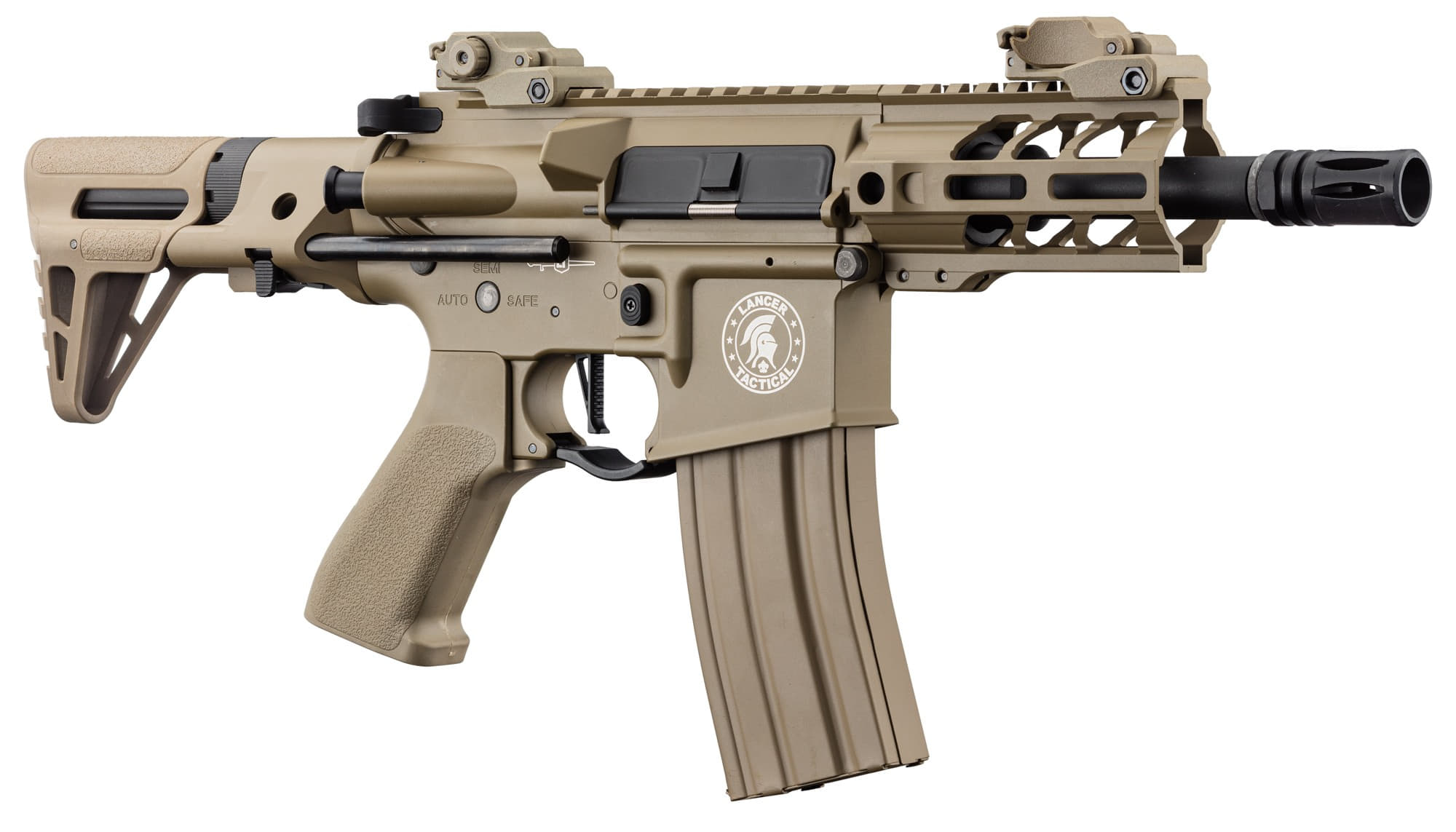 LK9077-1 Réplique AEG LT-34 Proline GEN2 Enforcer Battle Hawk PDW 4' tan - CLK9000