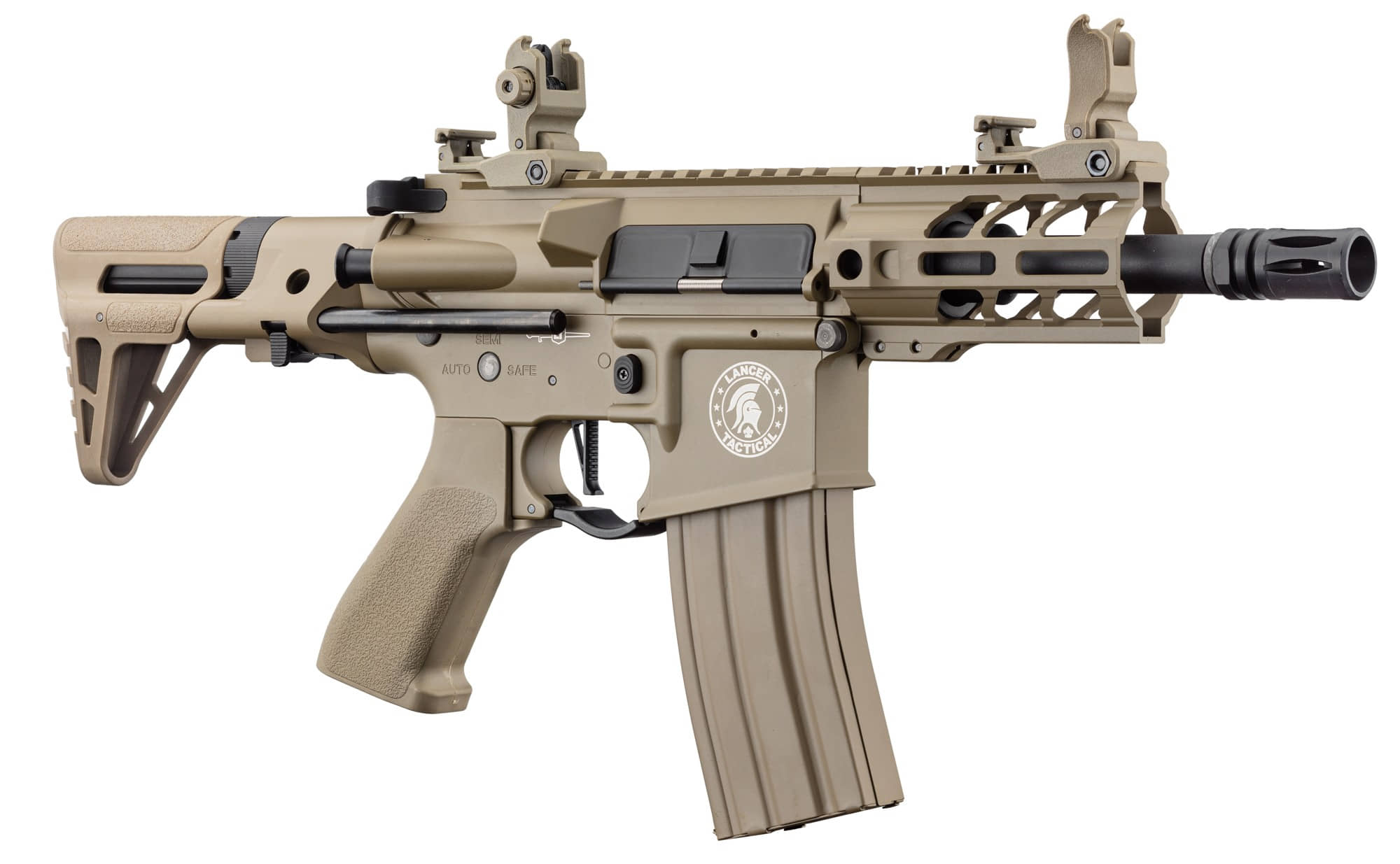 LK9077-2 Réplique AEG LT-34 Proline GEN2 Enforcer Battle Hawk PDW 4' tan - CLK9000