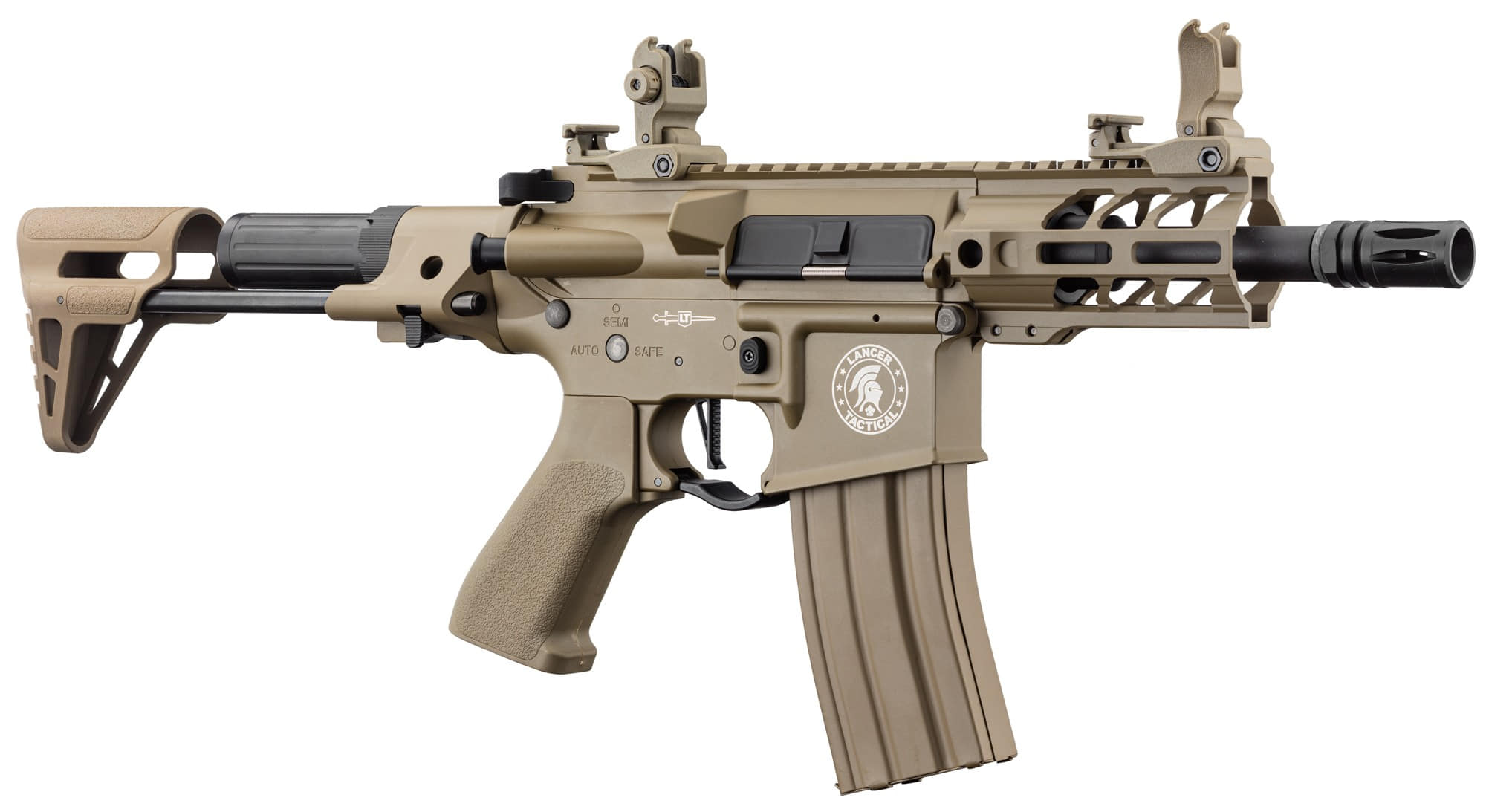 LK9077-3 Réplique AEG LT-34 Proline GEN2 Enforcer Battle Hawk PDW 4' tan - CLK9000