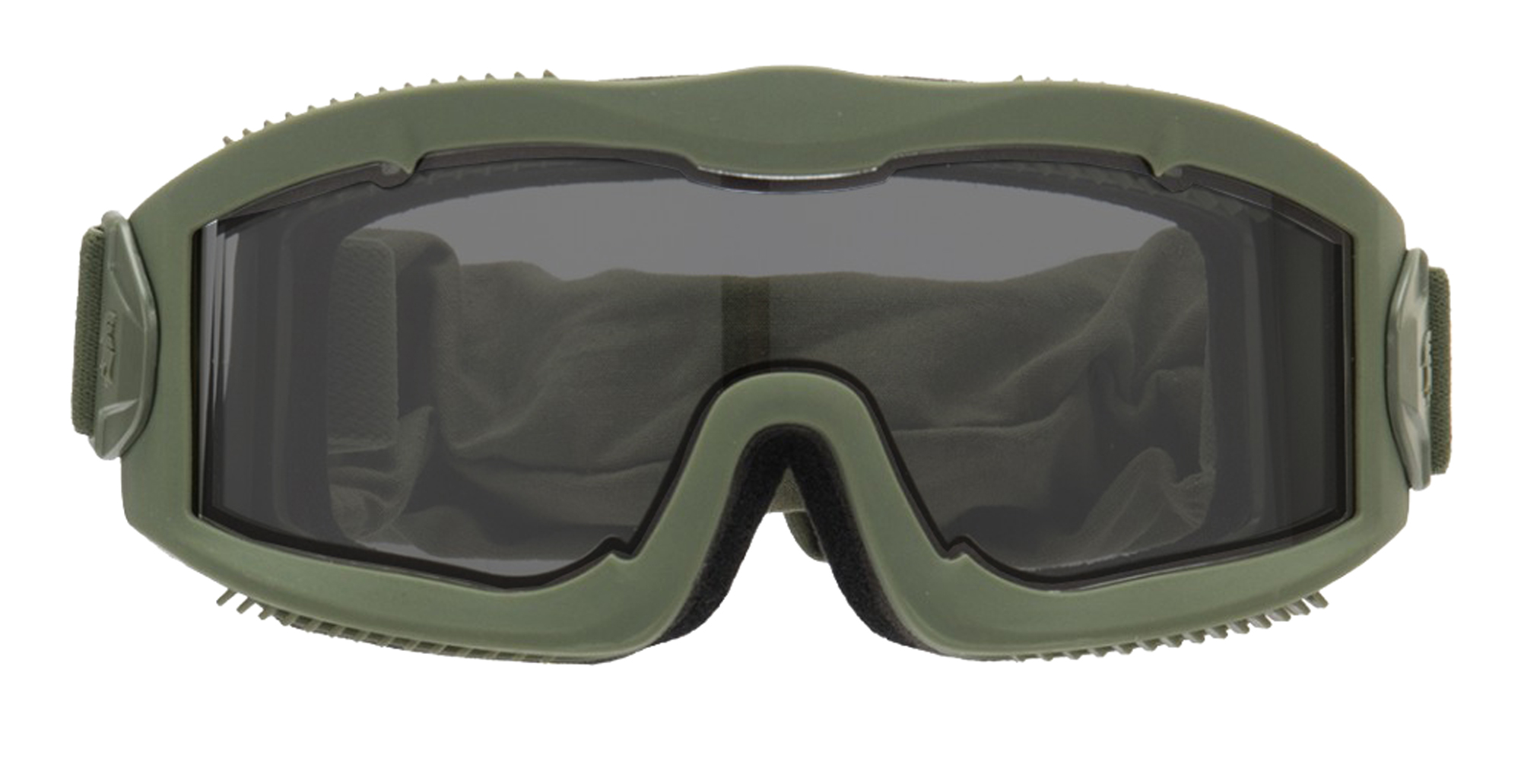 MAS204-1 Airsoft Mask AERO Series Thermal OD smoke - MAS204