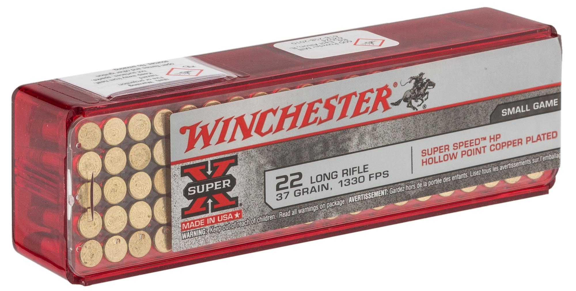 MD313-4-Cartouches 22 LR WINCHESTER SUPER X - MD3130