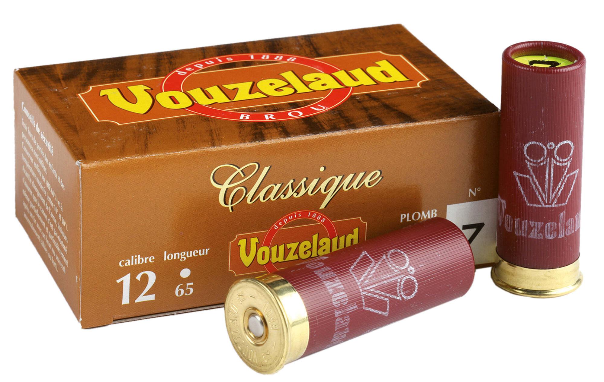 Classique petit 1265 calibre Cartouches Vouzelaud VOUZELAUD culot 6E7wX54Xq