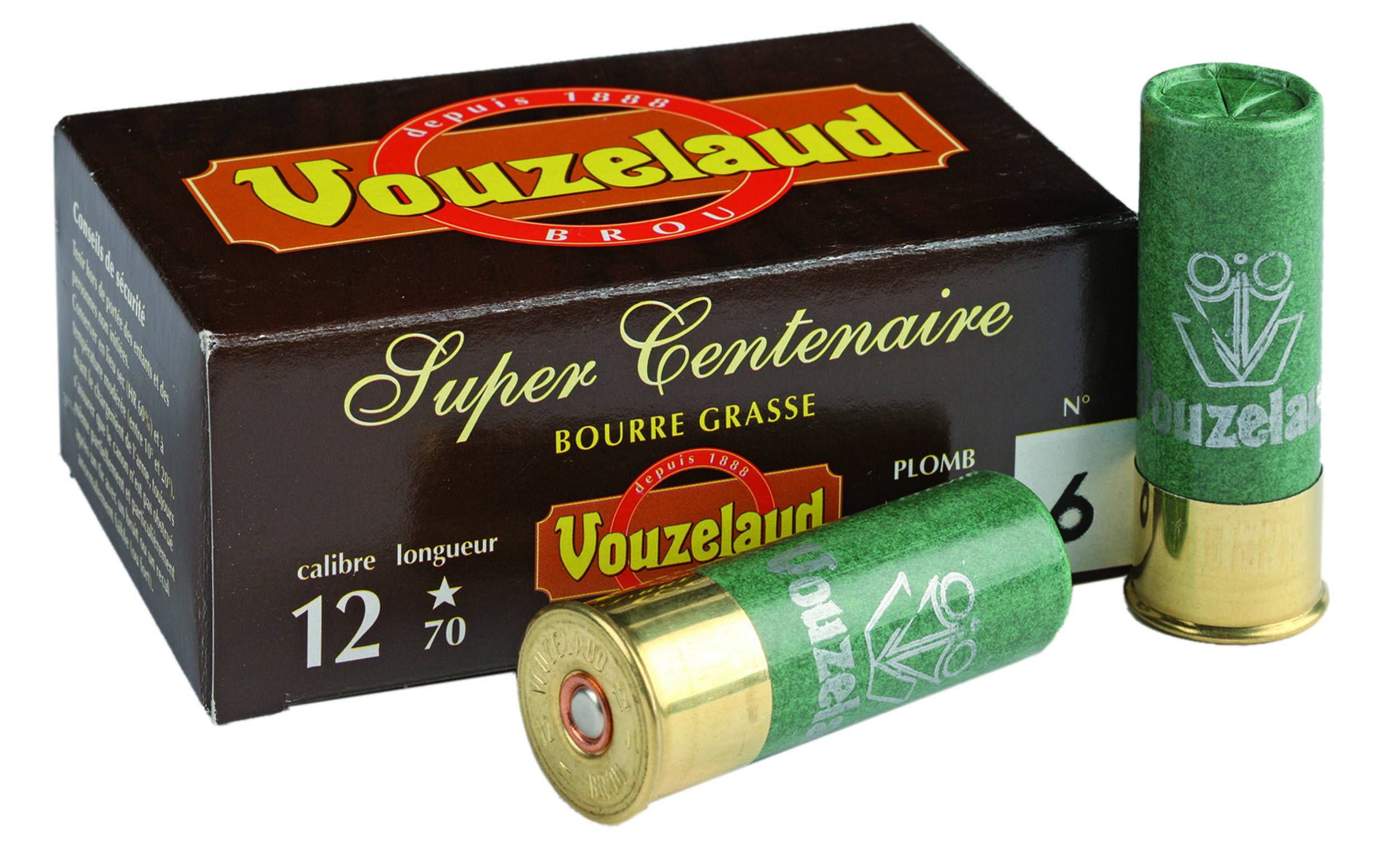 ML3214 Cartridges Vouzelaud - Super Centennial - Cal. 12/70 - ML3214