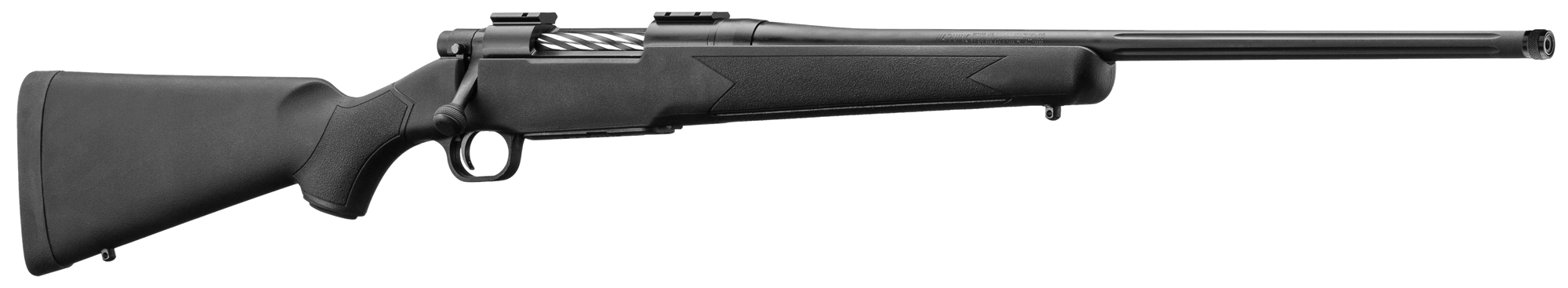 MO2430F-2-Carabines Mossberg Patriot à canon fileté - crosse Synthétique - MO2430F