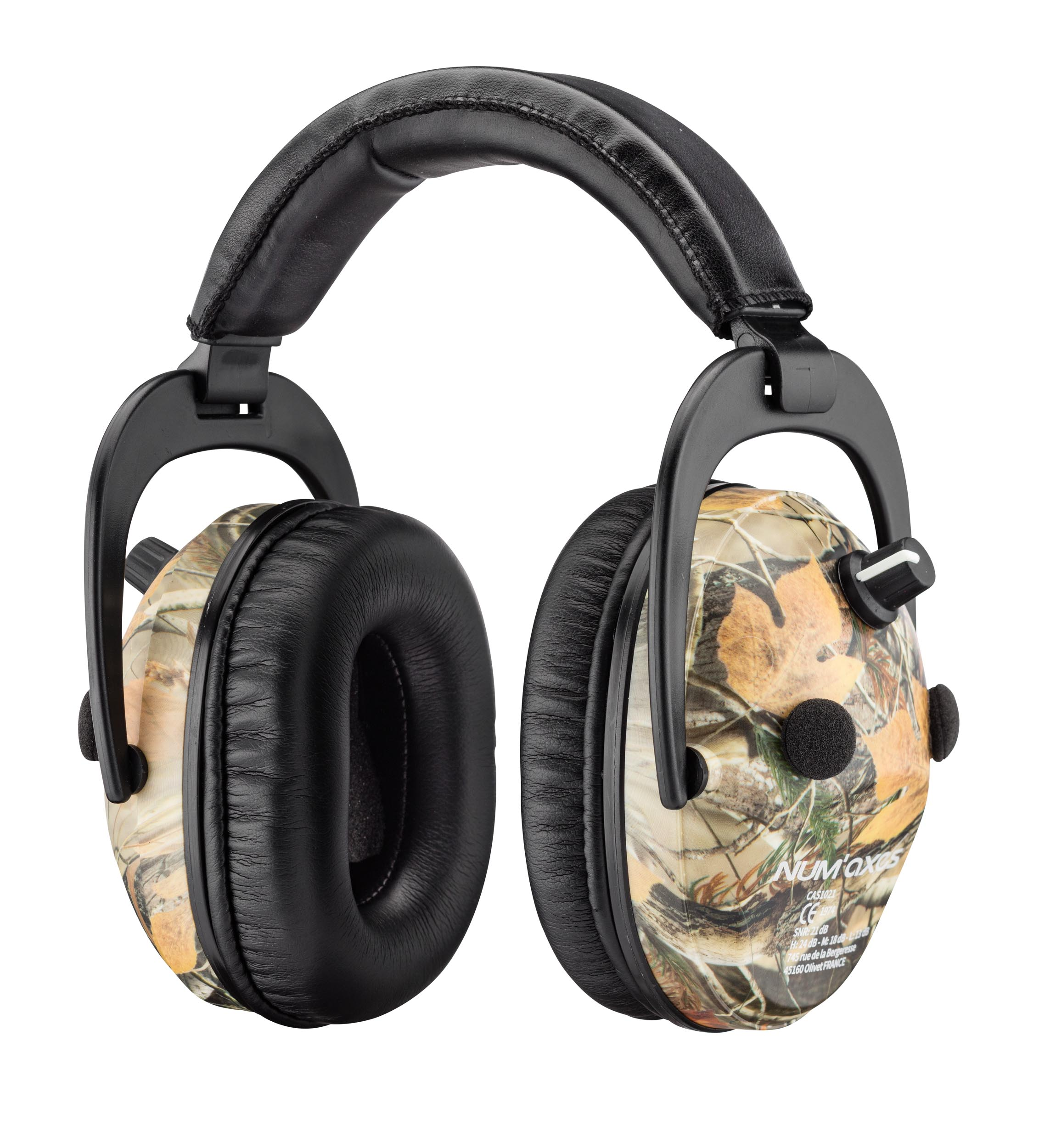 NUM117-2 Spika Hearing Protection Amplified Headphones - NUM117